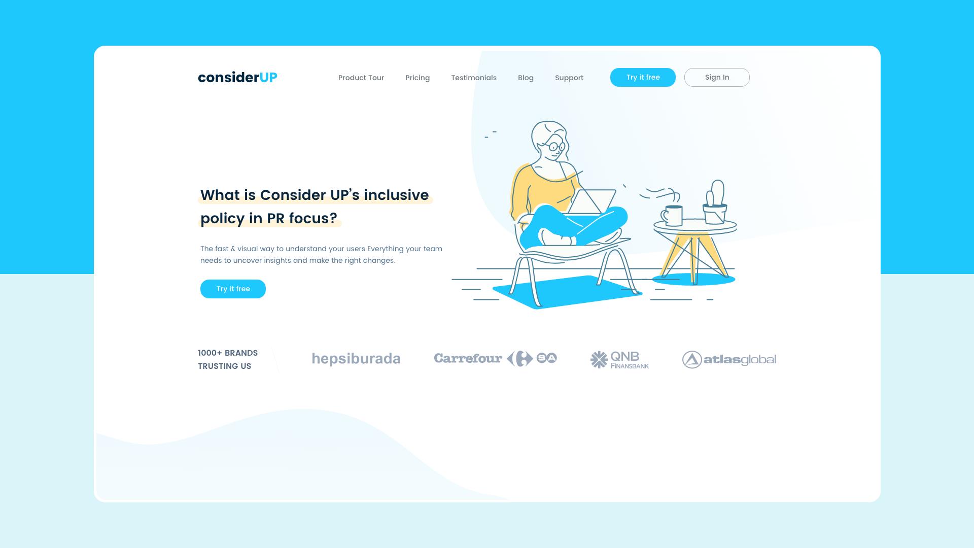 ConsiderUP Website